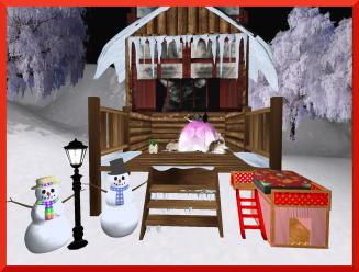 KittyCats Christmas tree gifties
